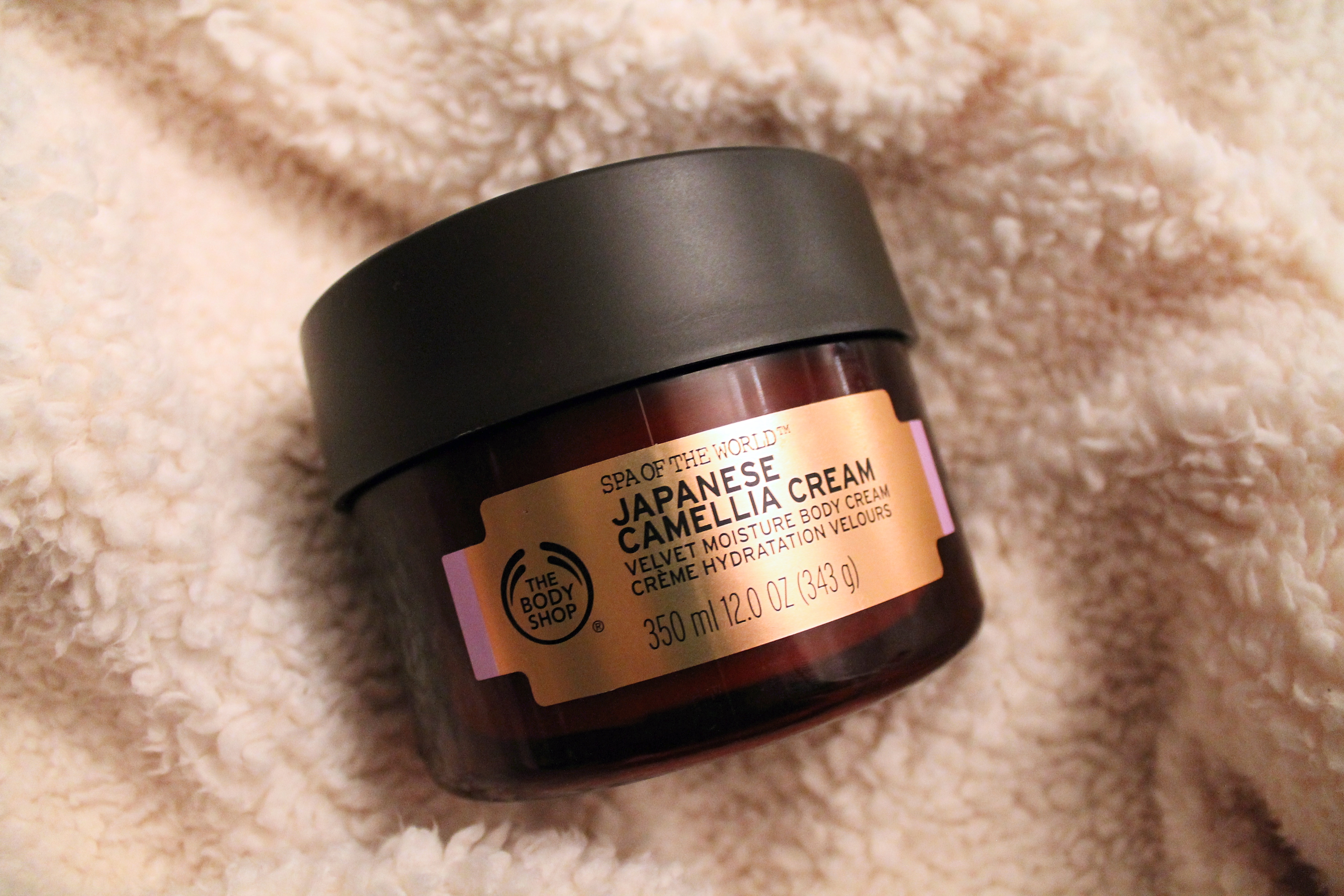 the body shop products - japanese camellia cream