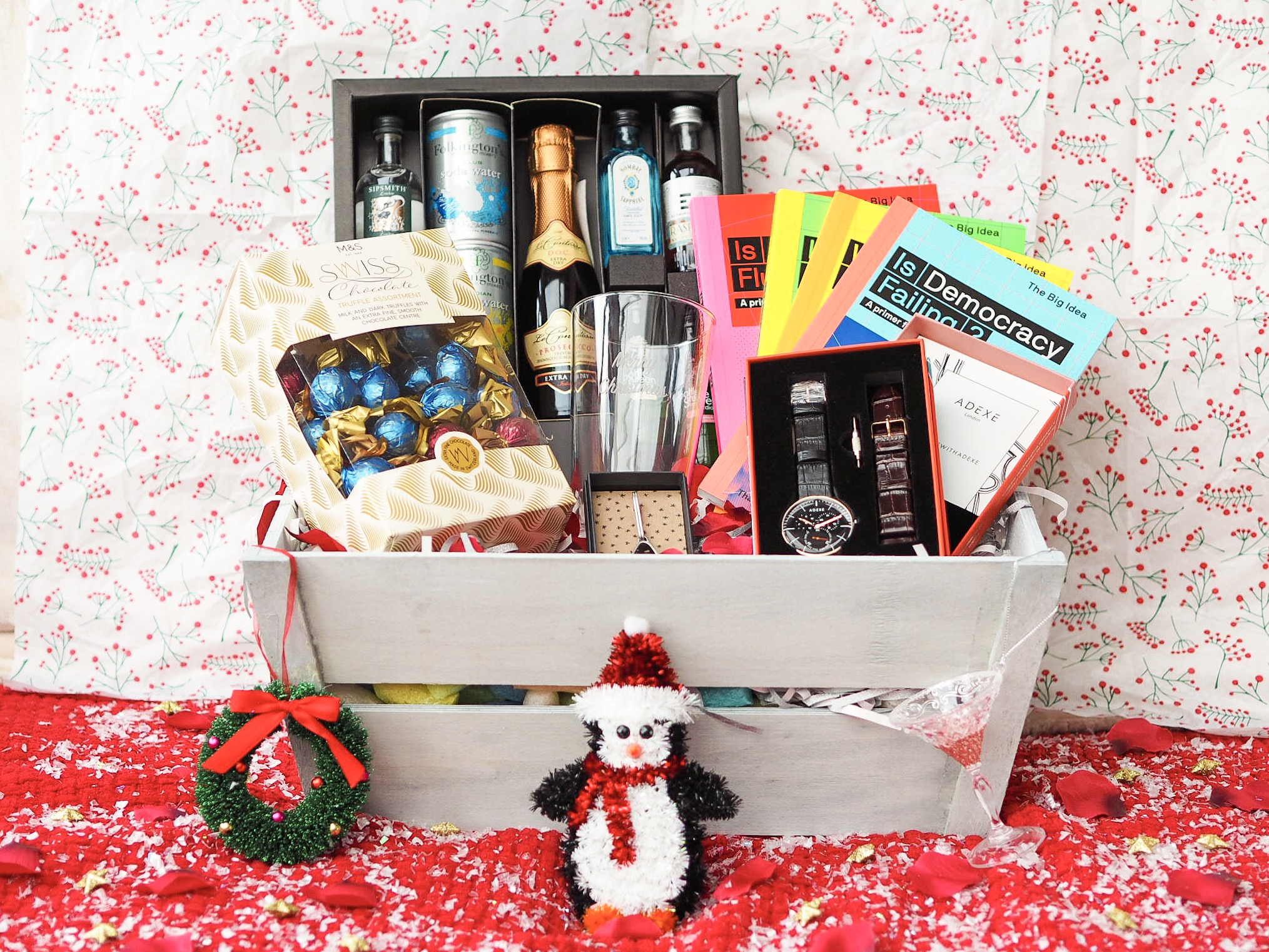 Christmas Hamper Ideas.Ideas For A Luxury Christmas Hamper