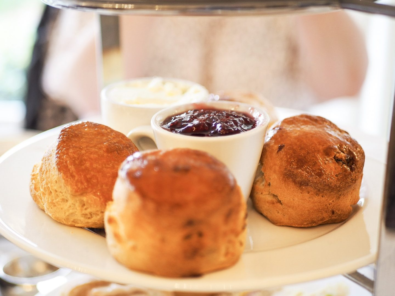 berwick lodge afternoon tea scones