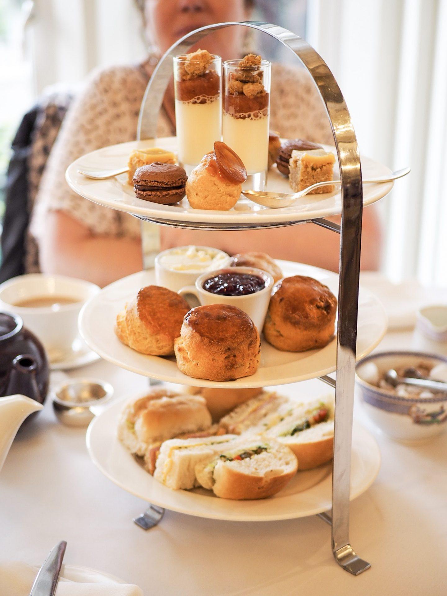 Berwick lodge full afternoon tea
