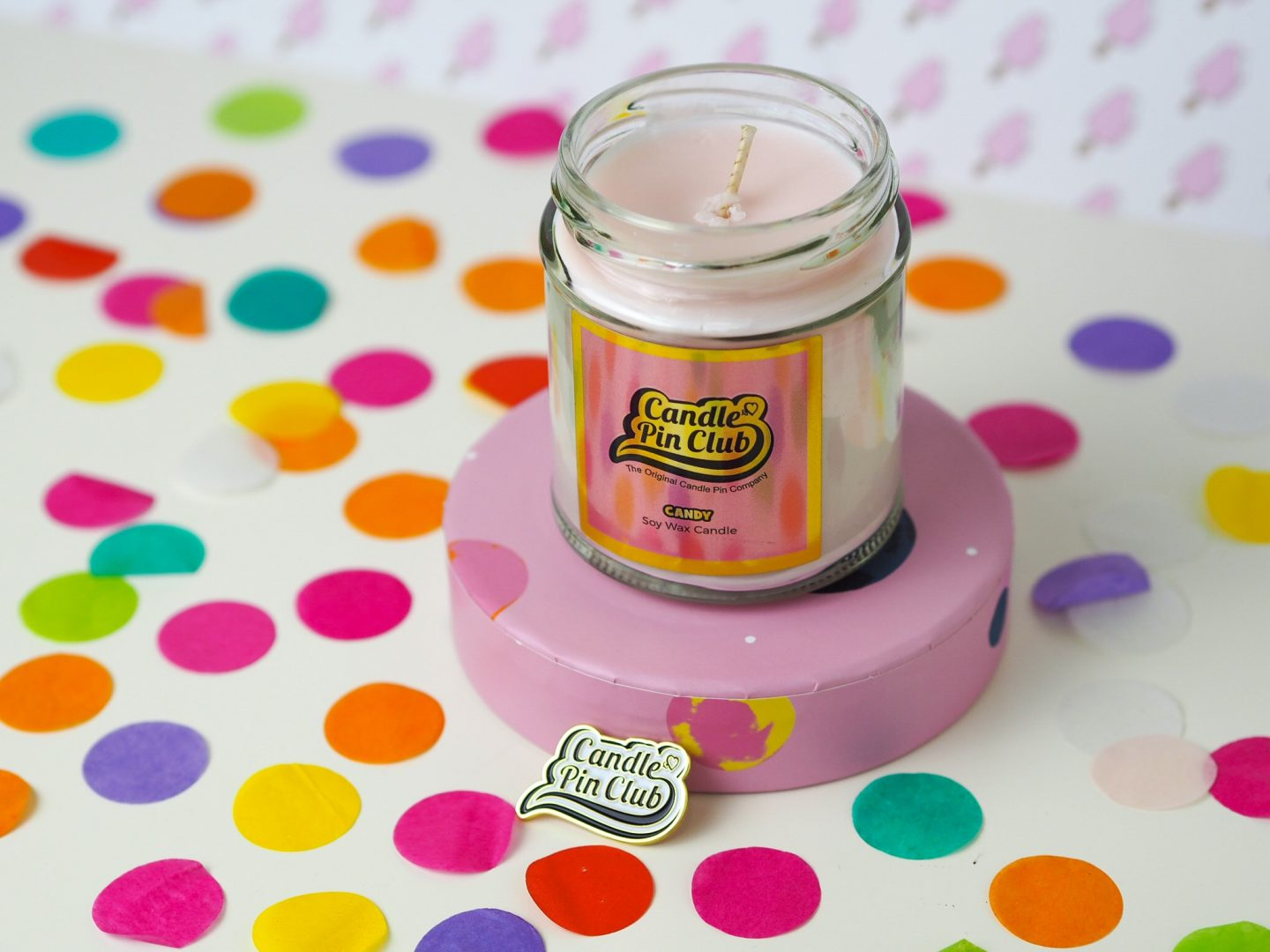 candle pin club candy candle not burning