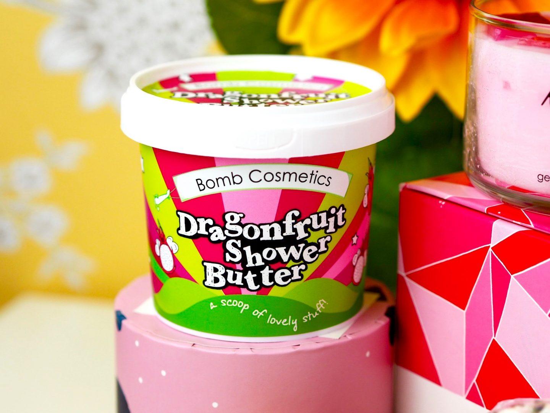 Dragonfruit shower butter