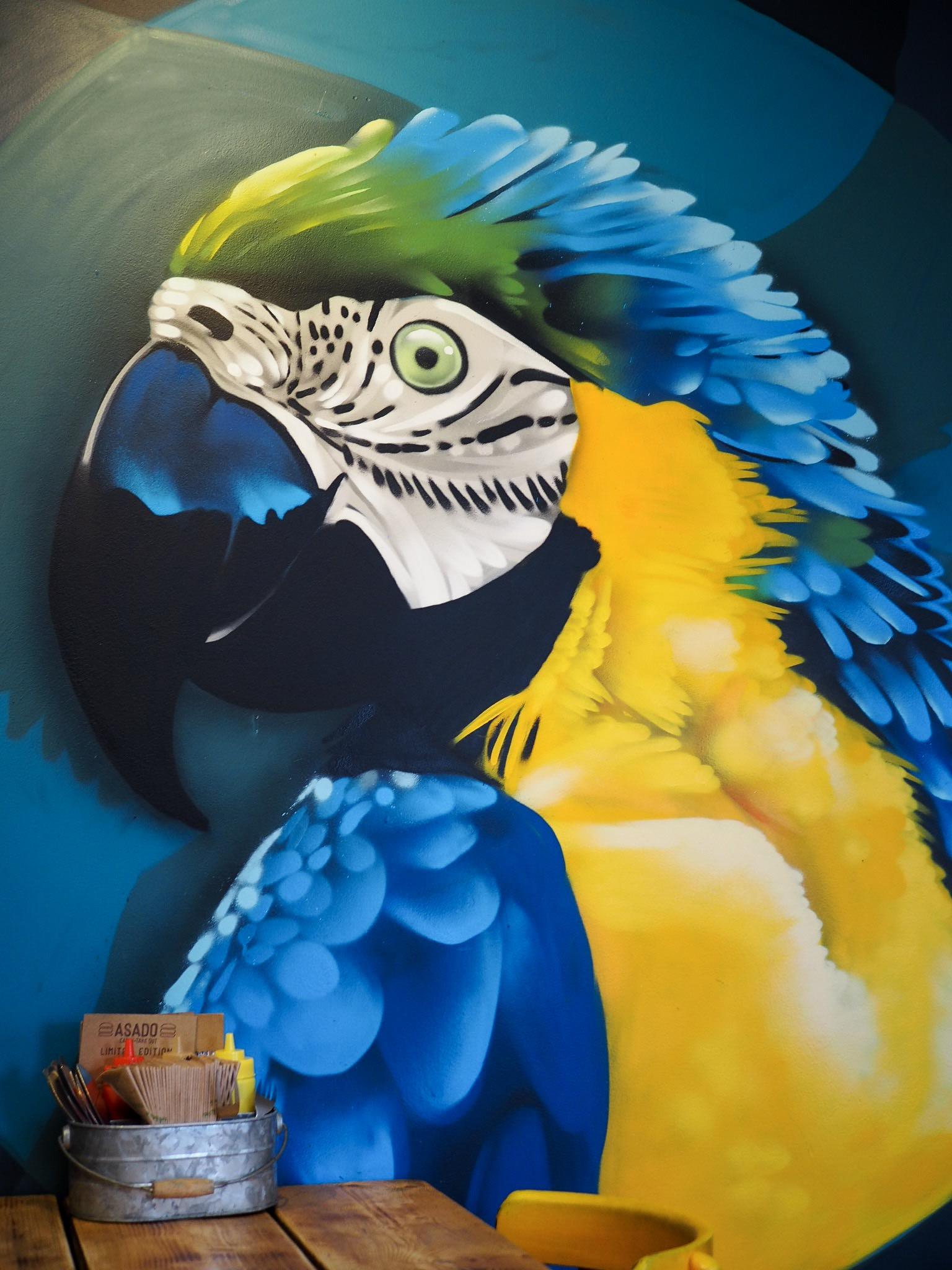 Asado Bristol graffiti