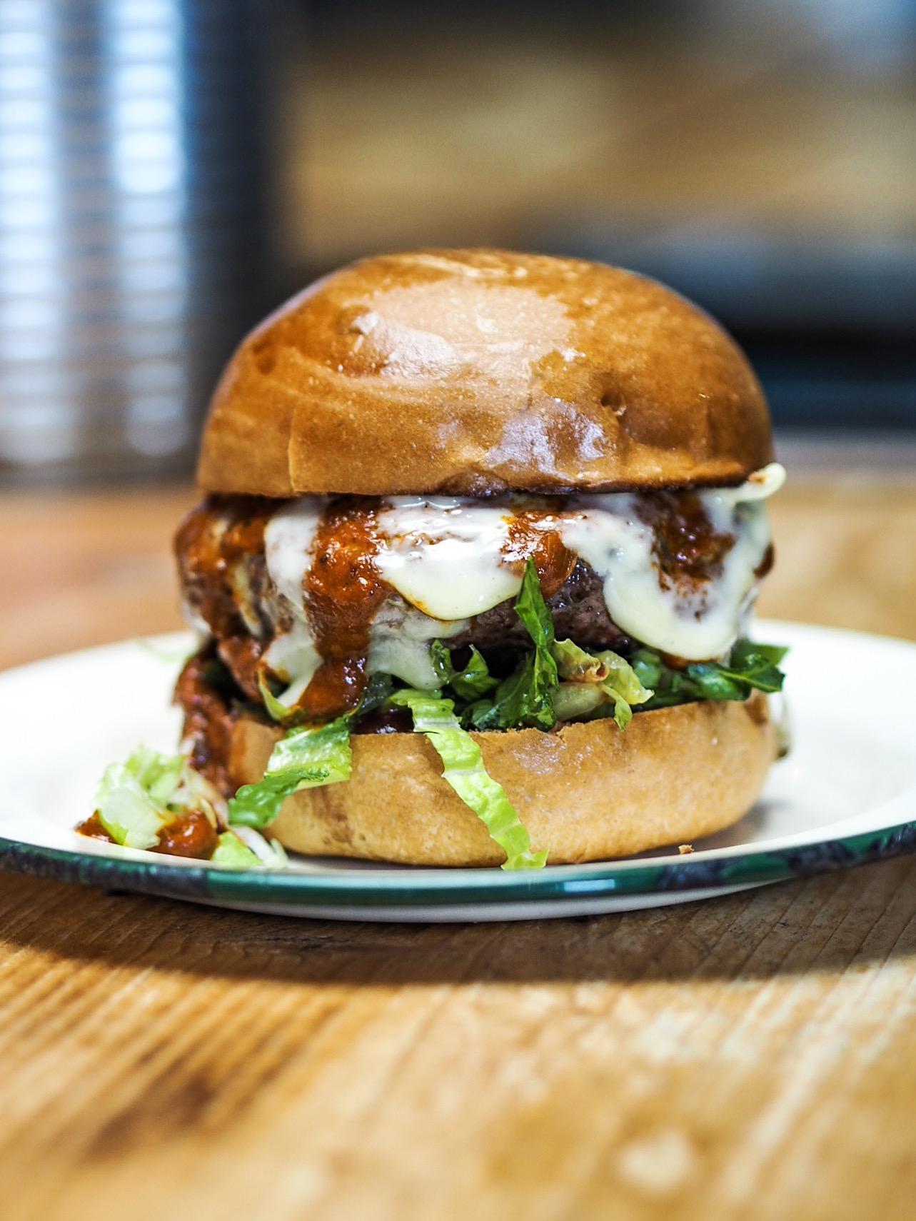 Asado Bristol beef burger