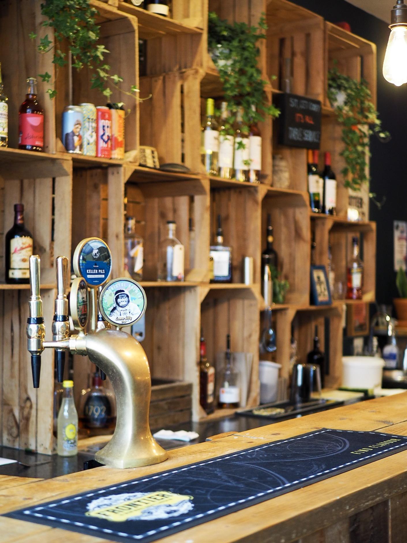 Asado Bristol bar area