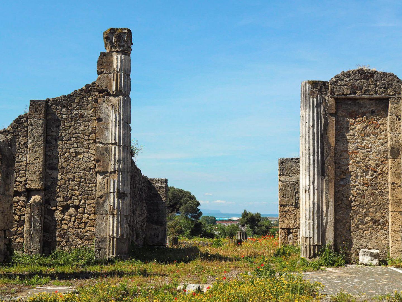 Pompeii ruins Sorrento travel