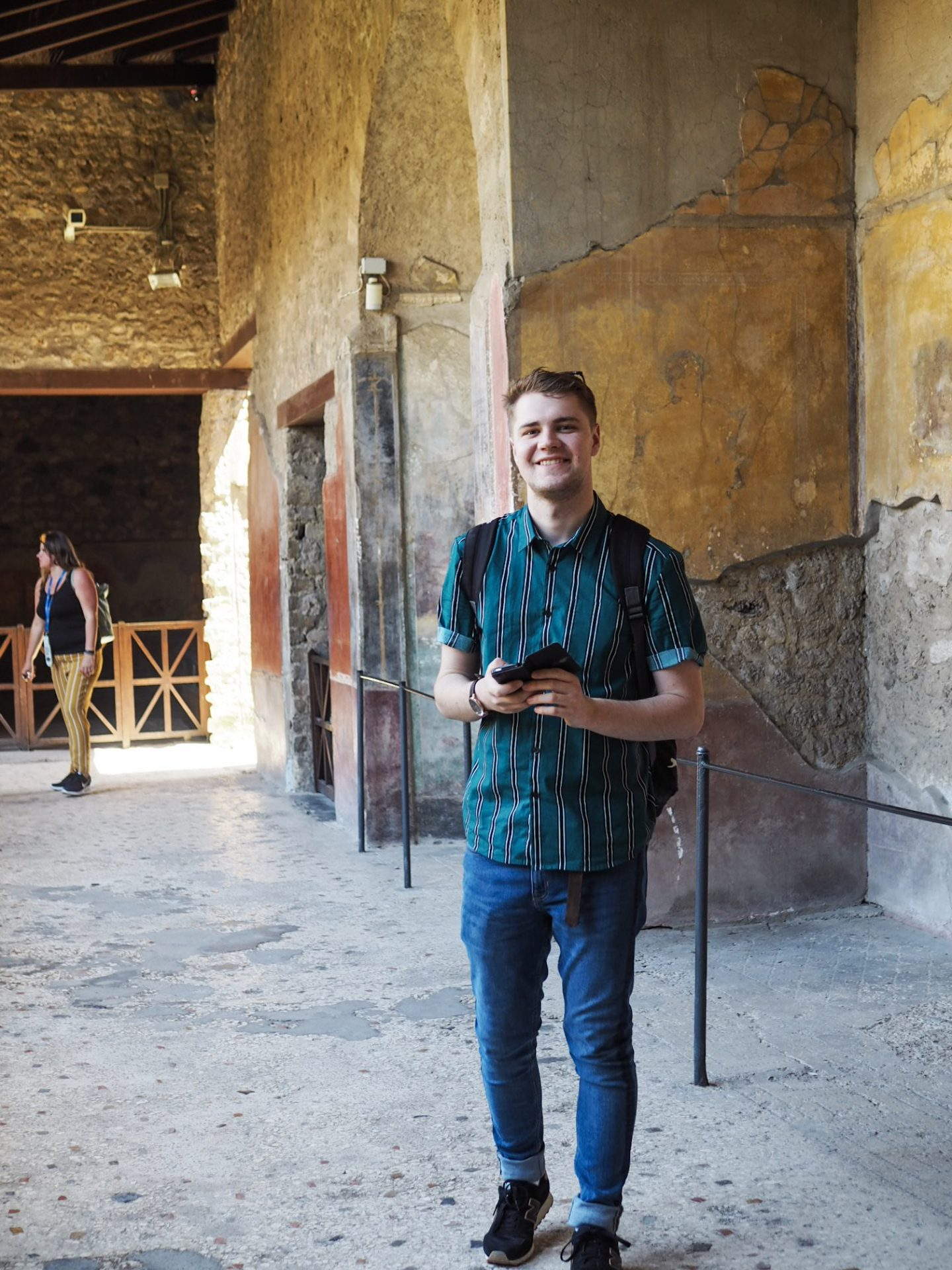 Jake in Pompeii
