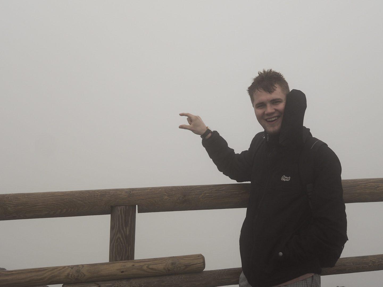 Jake on Vesuvius