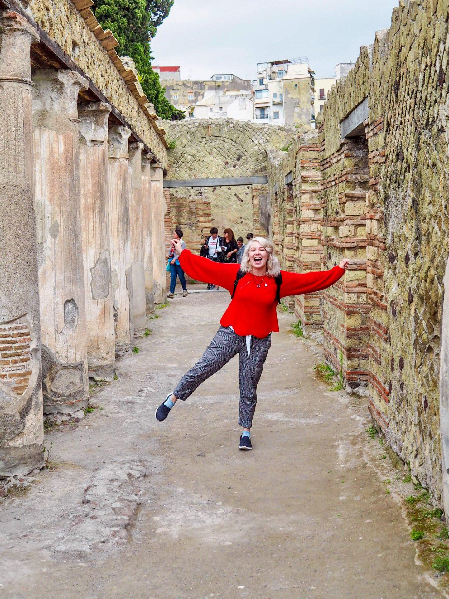 Alice in Herculaneum