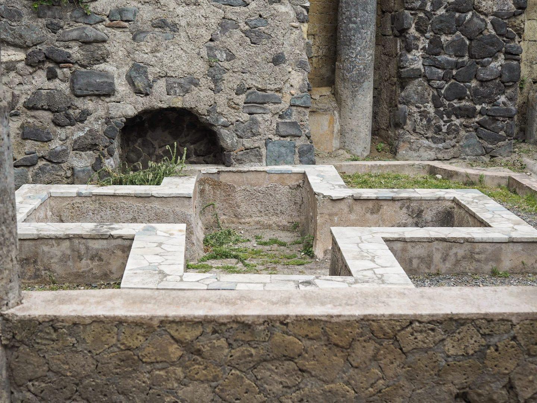 Cross in Herculaneum