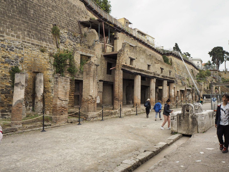 Street Herculaneum