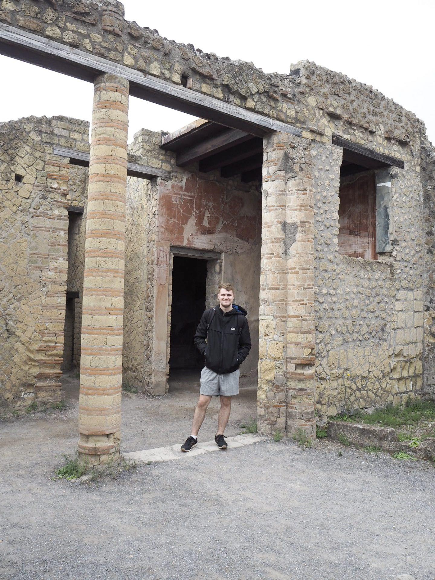 Jake in pillars