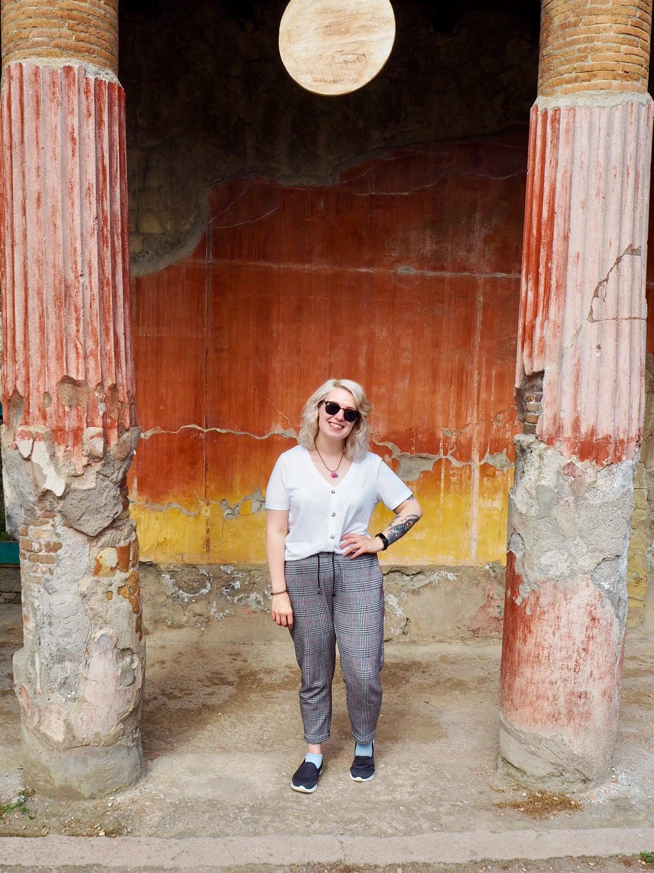 Sorrento travel - Alice in Herculaneum