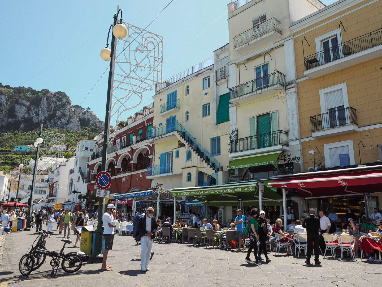 Sorrento travel: Capri