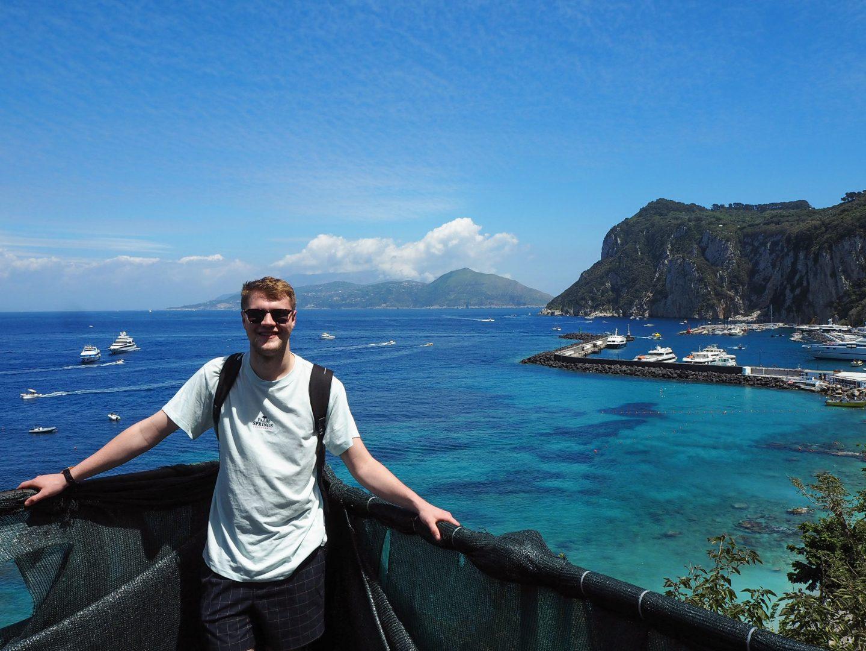 Jake on Capri