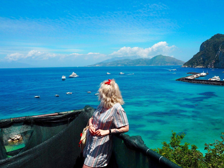 Alice on Capri