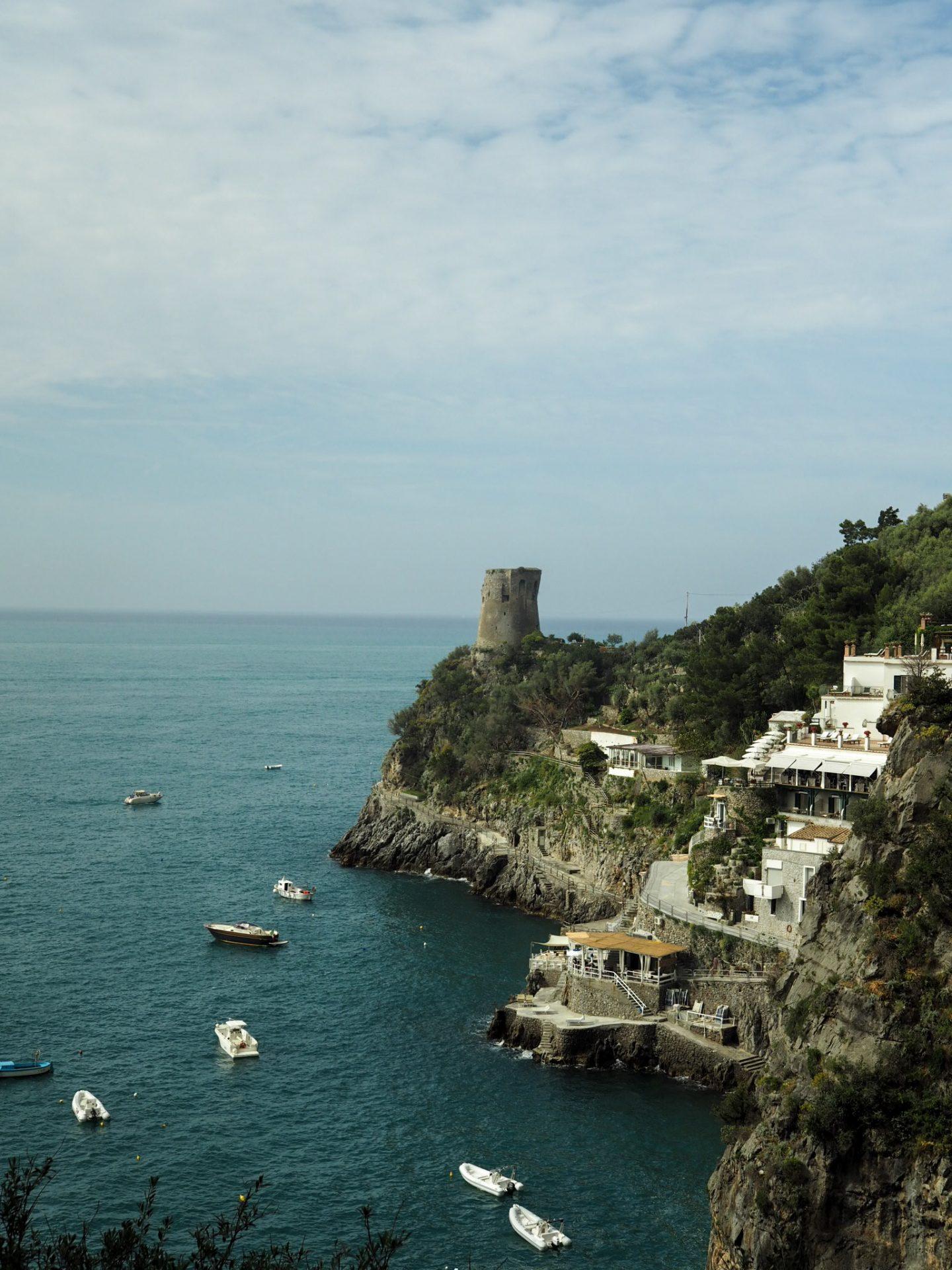 Castle in Amalfi
