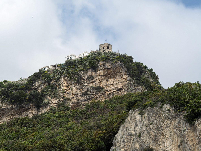 Cliff edge Amalfi