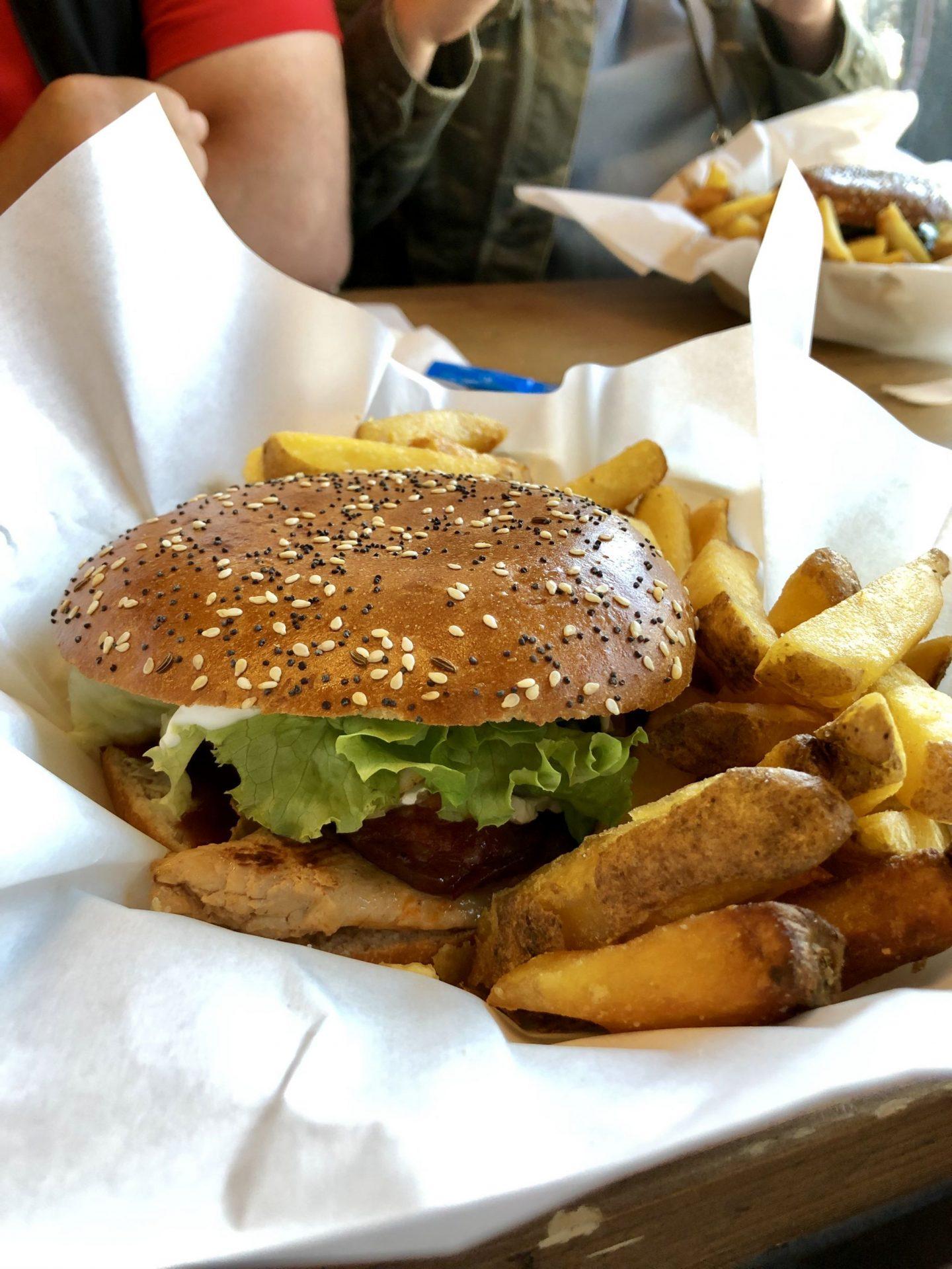 Holy Cow burger