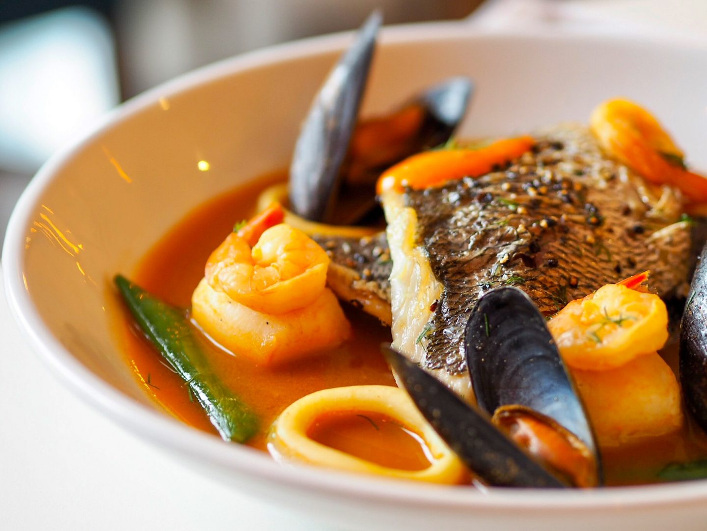 Fish stew - back to work as a photographer